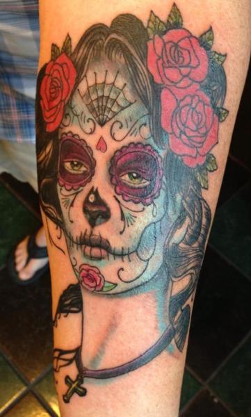 tatuagem-de-caveira