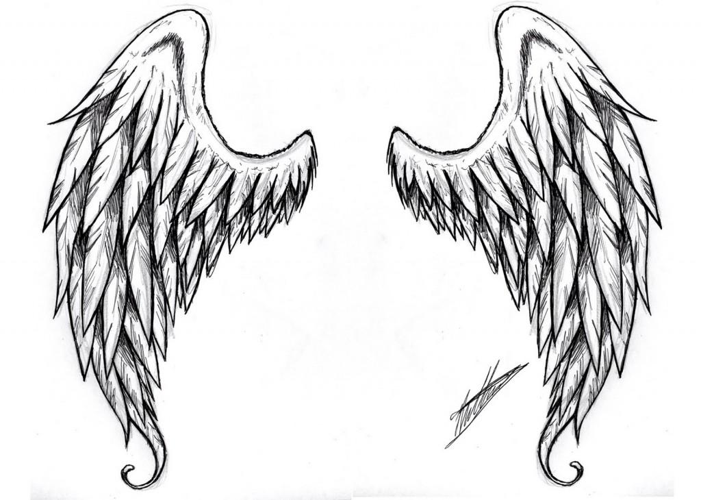 Tatuagem de Asas de Anjo