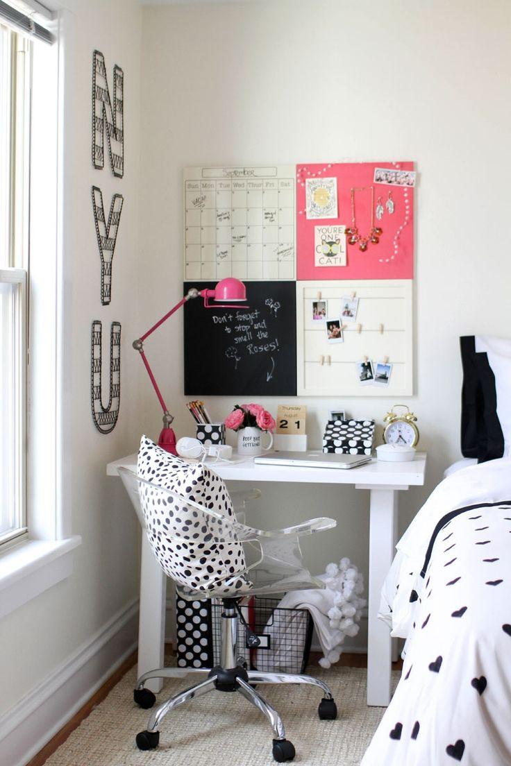 Decora o mesa de estudos di rio da aninha for 20 year old woman bedroom ideas