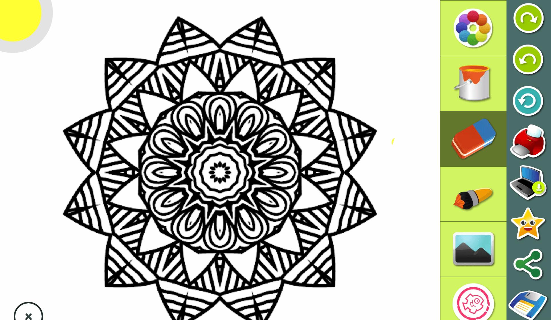 mandala colorir on line diário da aninha