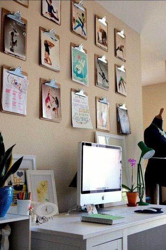 Decora o com pranchetas na parede a nova d cor inspira o for Paginas para decorar tu casa