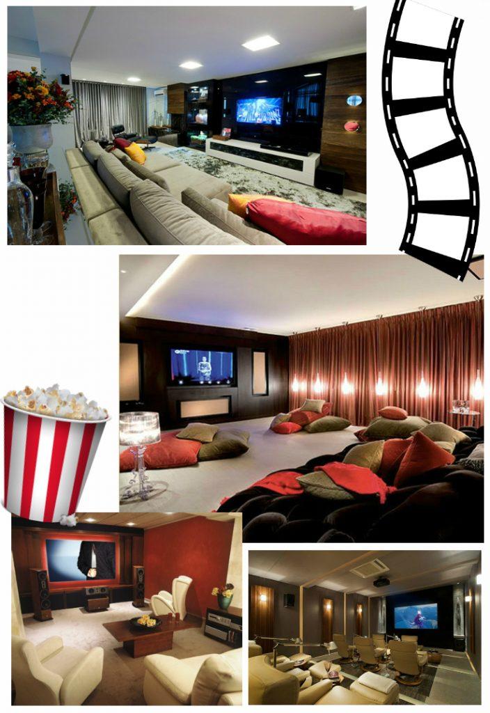 Sala de cinema em casa 5 dicas para gastar pouco - Sala cinema in casa ...
