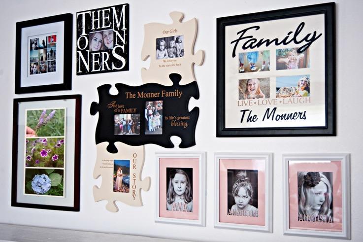 decoração-com-quadros-decoração-familia