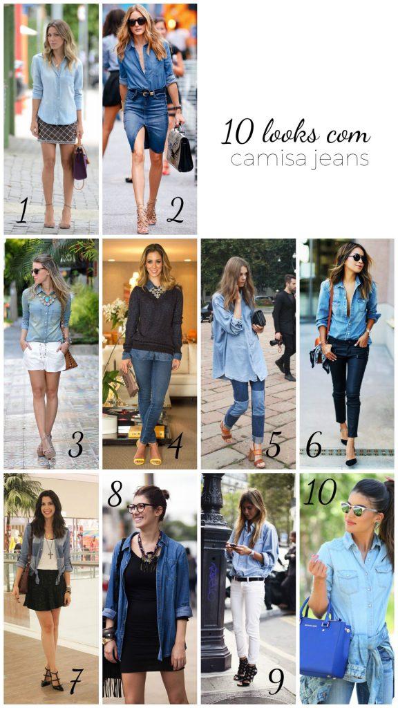 como-usar-jeans-10-looks-com-camisa-jeans