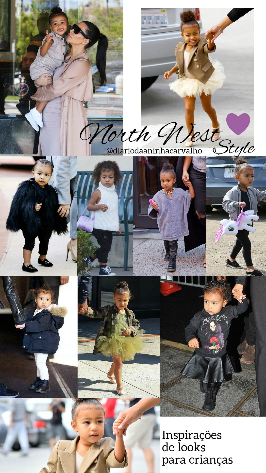 North West - inspiração de looks para crianças estilosas - Diário da ... d408c8c2d54