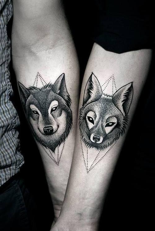 tatuagem-de-lobo-casal