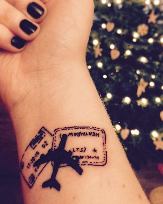 Travel Tattoo 20 Inspiraes De Tatuagens Para Quem Ama Viajar