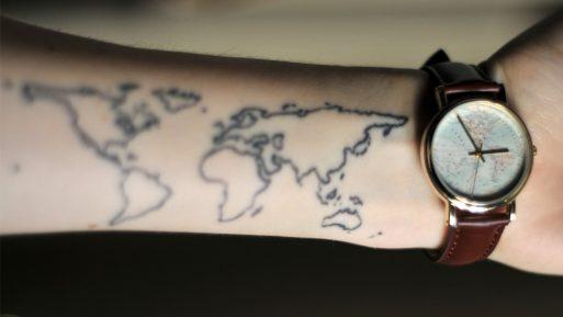tatuagem inspira em viagens