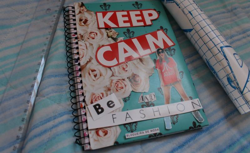 caderno com recortes de revista Como personalizar caderno