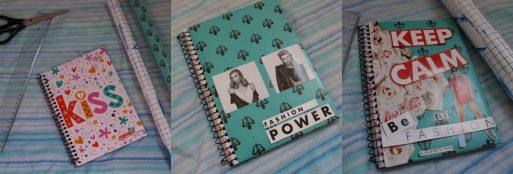 Como personalizar caderno
