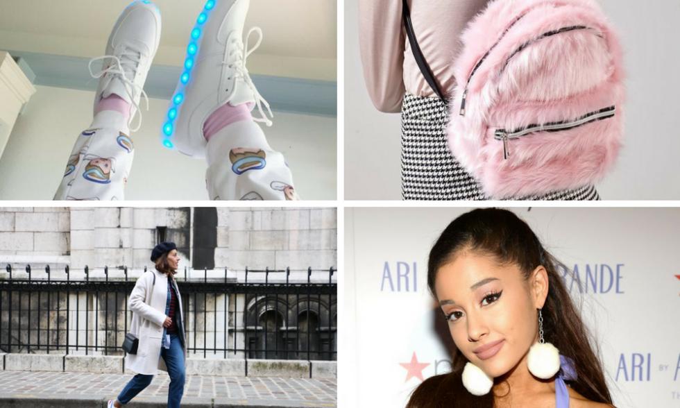 tendências da moda que parecem de criança