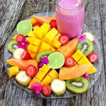 como se alimentar bem Saladinha de fruta no potinho