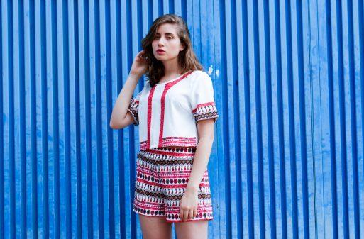 aninha carvalho blogueira de bh look do dia moda conjuntinho de short com cropped