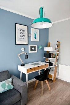 caixas decorativas no home office