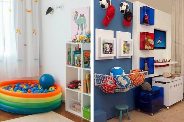 decoração de quarto infantil brinquedos