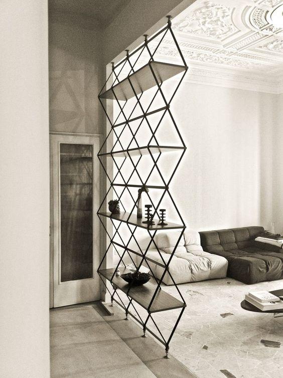 dicas-de-decoração-para-sala-separação-de-parede-vazada