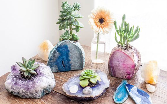 decoração com pedras