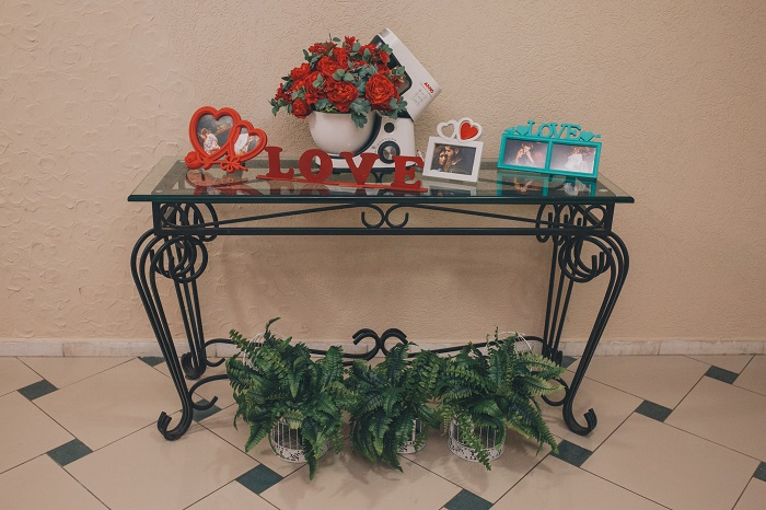 decoração chá de panela entrada