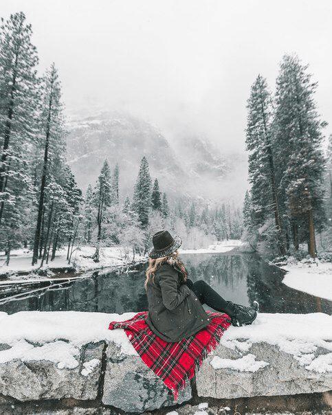 Fotos de inverno com paisagens lindas