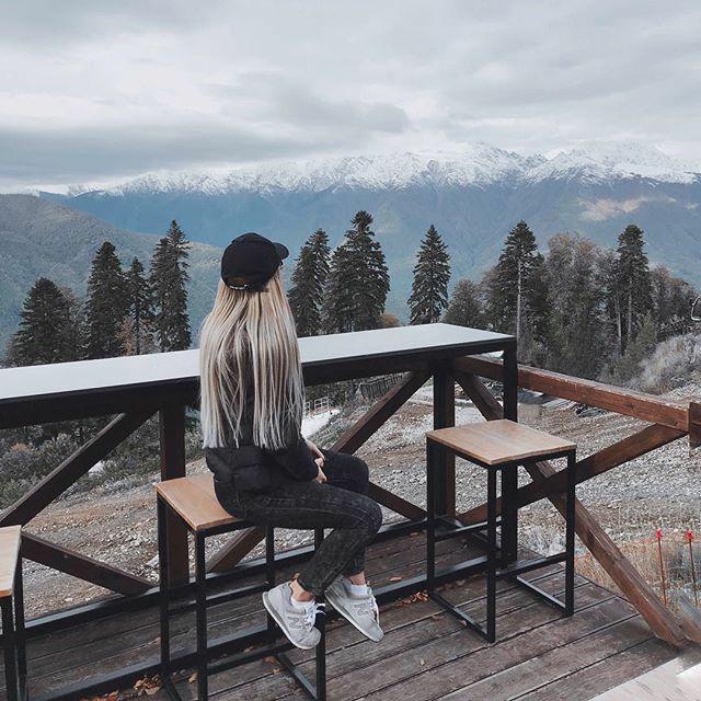 Fotos na neve paisagem
