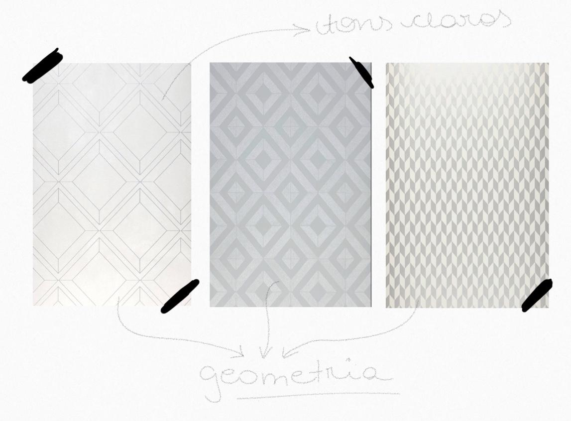 Dicas de papel de parede na cozinha neutro