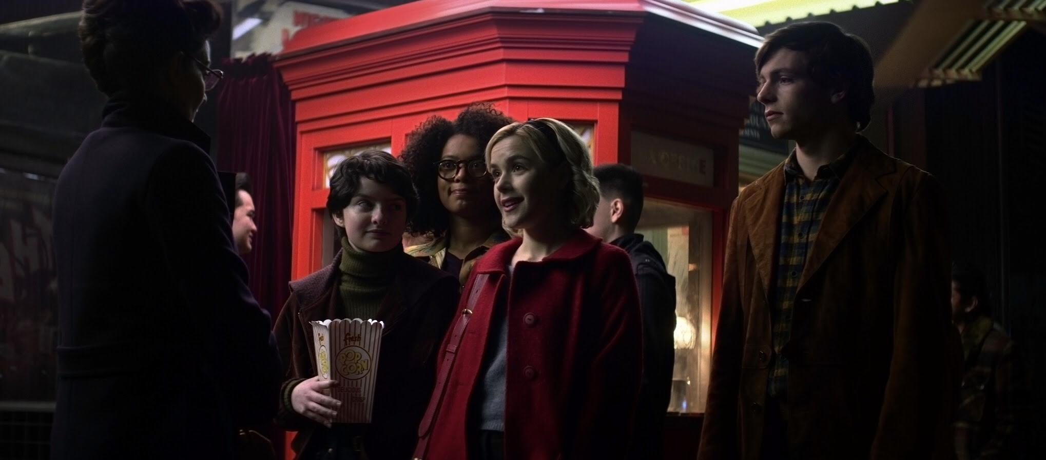 Netflix o mundo sombrio de Sabrina personagens serie chilling adventures of Carrie