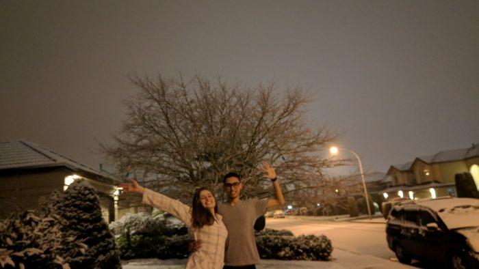 dia de neve casa de familia vancouver richmond intercambio
