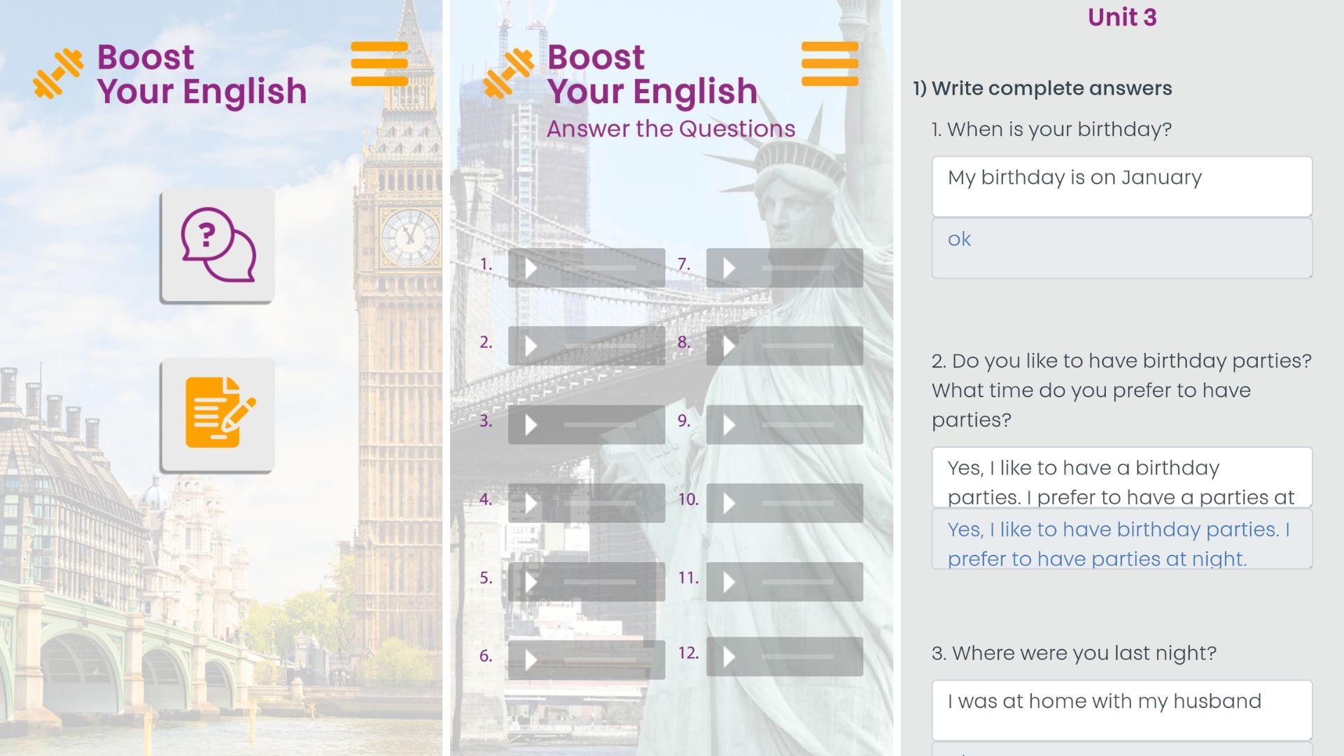 aplicativo park idiomas como usar