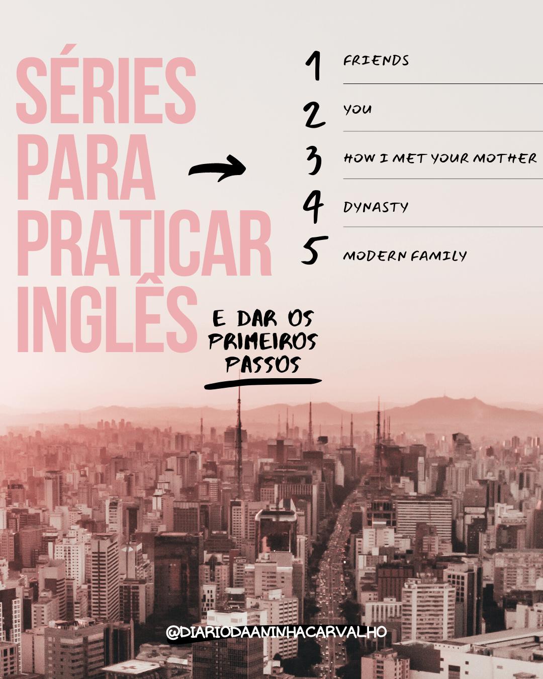 series para aprender inglês básicas pra iniciantes
